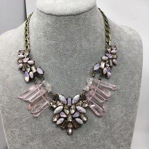 BaubleBar Crystal Statement Necklace